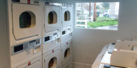 Coinless laundry facilities